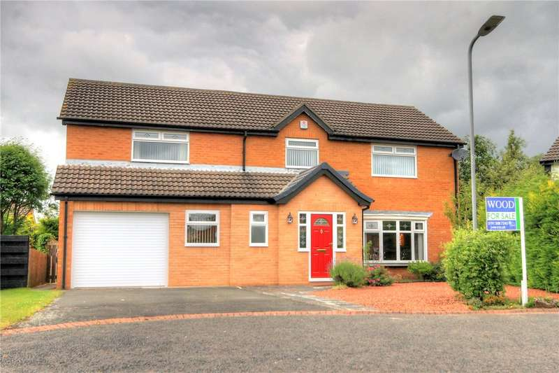 4 Bedrooms Detached House for sale in Bellerby Drive, Ouston, Chester Le Street, DH2