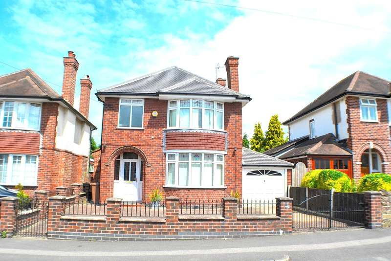 3 Bedrooms Detached House for sale in Quarn Drive , Allestree, Derby