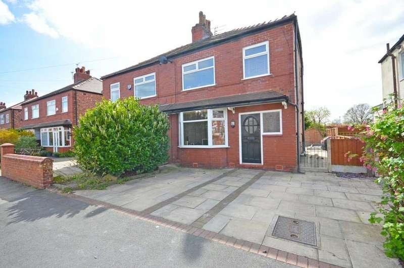 3 Bedrooms Semi Detached House for sale in Neville Street, Hazel Grove