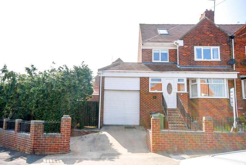 3 Bedrooms Semi Detached House for sale in Blyton Avenue, Ryhope