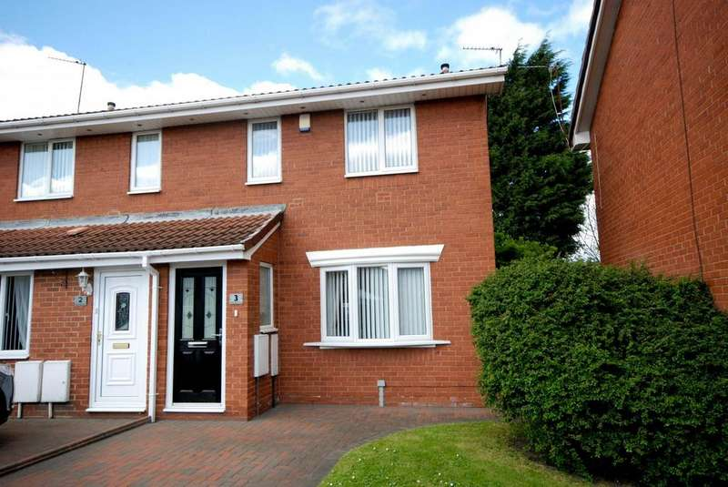 2 Bedrooms Semi Detached House for sale in Beechwood Close, Jarrow