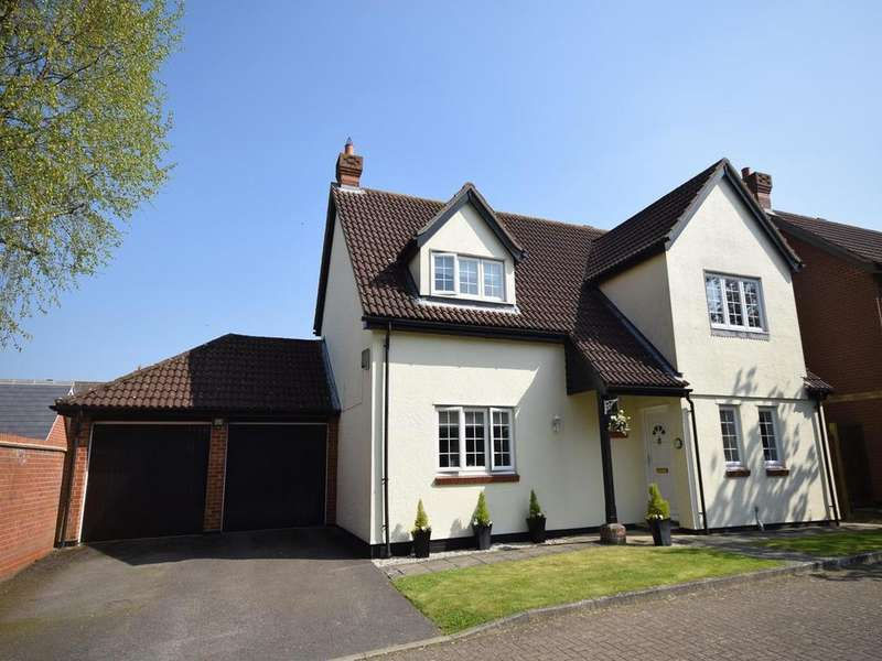 4 Bedrooms Detached House for sale in Lukins Drive, Dunmow, Essex, CM6
