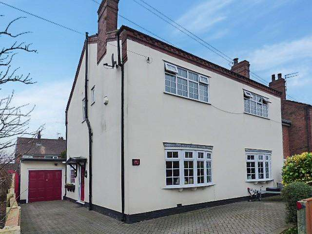 4 Bedrooms Detached House for sale in Church Lane, Culcheth, Warrington