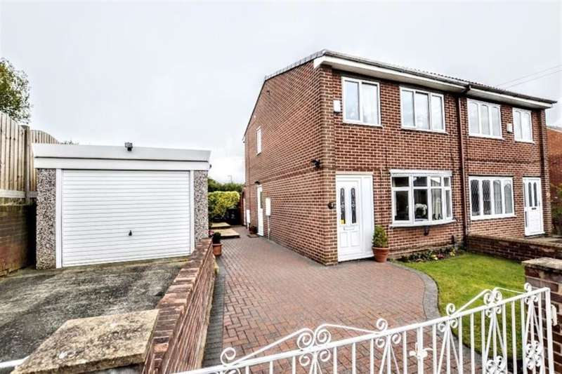 3 Bedrooms Semi Detached House for sale in Dickinson Road, Barnsley, S70
