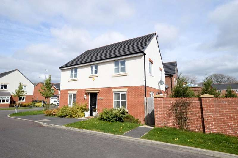 4 Bedrooms Detached House for sale in Doulton Close, Warrington