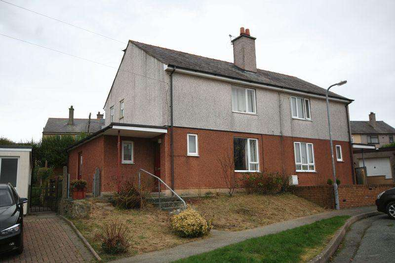 2 Bedrooms Semi Detached House for sale in Llangefni, Anglesey