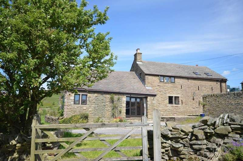 3 Bedrooms Barn Conversion Character Property for sale in Goddard Lane, Rowarth, High Peak