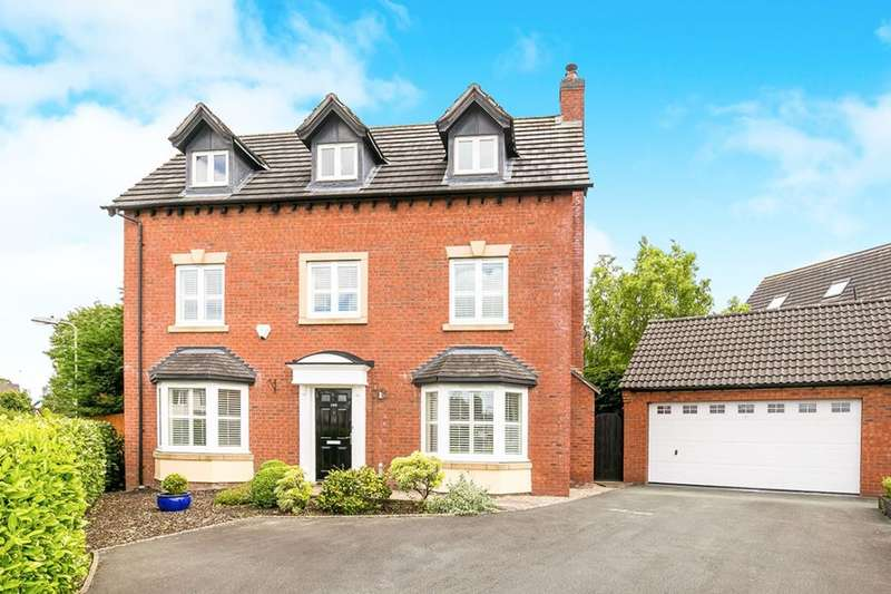 5 Bedrooms Detached House for sale in Middleton Road, Oswestry, SY11