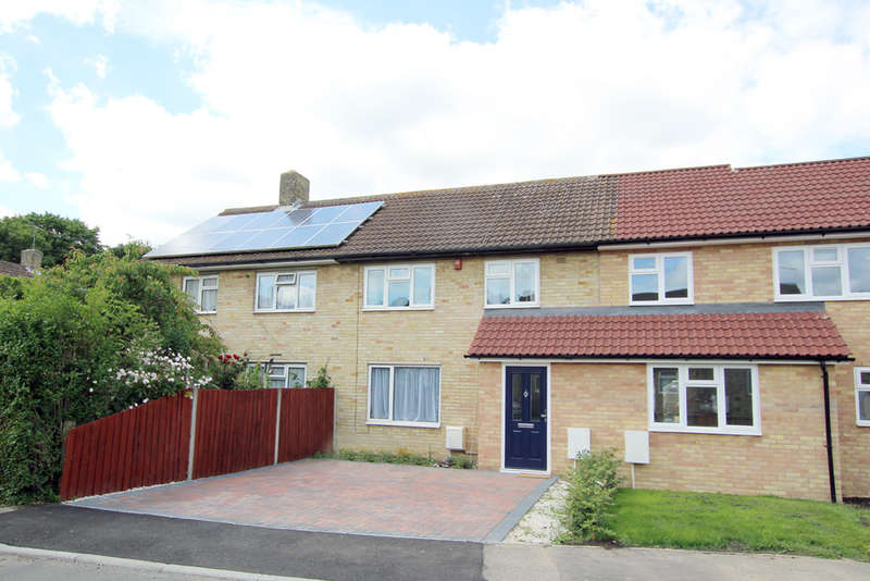 3 Bedrooms Terraced House for sale in Barrons Green, Shepreth, Royston