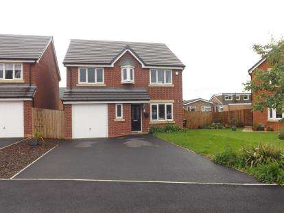 4 Bedrooms Detached House for sale in Beckfield Close, Leigh, Greater Manchester