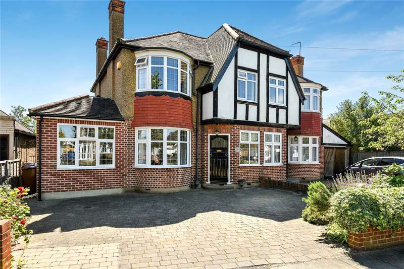 3 Bedrooms Semi Detached House for sale in Marlborough Avenue, Ruislip, HA4