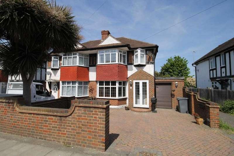 3 Bedrooms Semi Detached House for sale in Tudor Drive, Morden