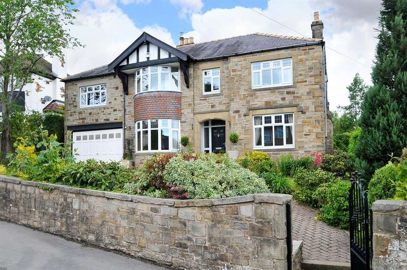 5 Bedrooms Detached House for sale in Oakleigh. Raikes Road, Skipton