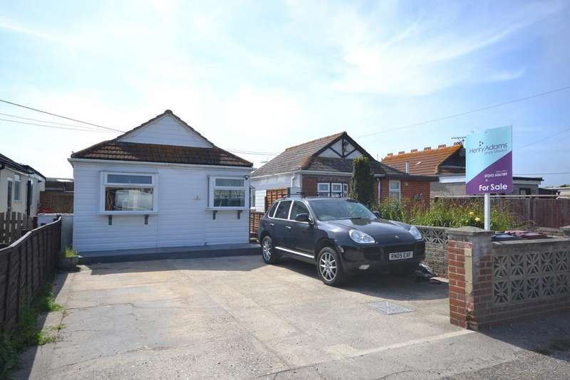 2 Bedrooms Detached Bungalow for sale in Avarest Villa, Montalan Crescent, Selsey, PO20