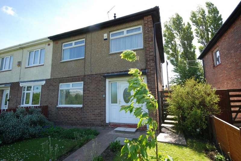 3 Bedrooms Semi Detached House for sale in Ribble Walk, Jarrow