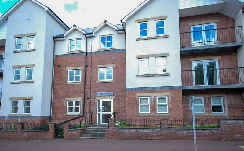 2 Bedrooms Flat for sale in Symphony Court, Gateshead