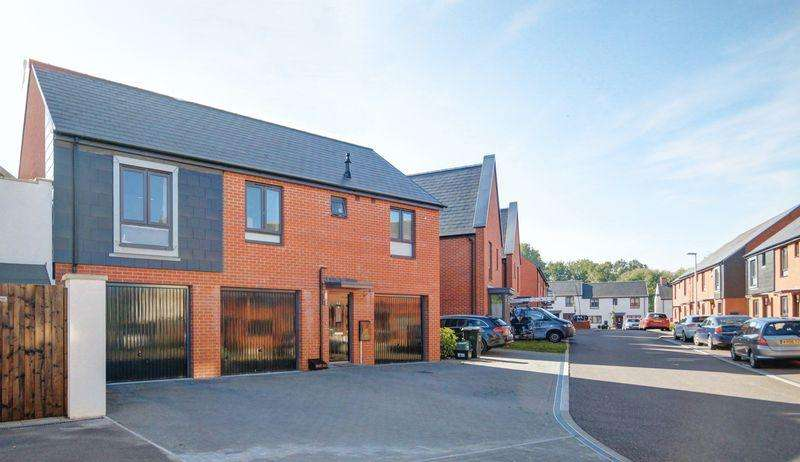 2 Bedrooms Detached House for sale in Milbury Farm Meadow, Exminster