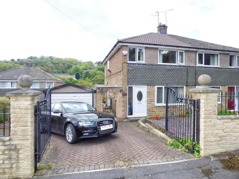 3 Bedrooms Semi Detached House for sale in Woodroyd Drive, Wheatley, HALIFAX, West Yorkshire, HX3