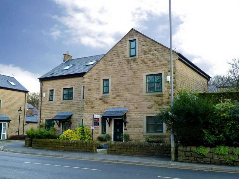 4 Bedrooms Semi Detached House for sale in High Street, Uppermill, Saddleworth, OL3