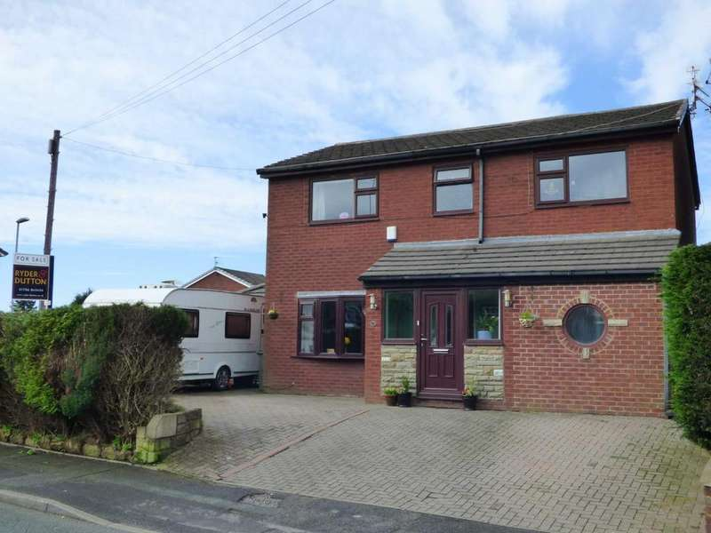 4 Bedrooms Detached House for sale in Hannerton Road, Shaw, Oldham, OL2