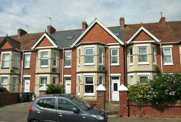 2 Bedrooms Maisonette Flat for sale in Lyndhurst Road, EXMOUTH