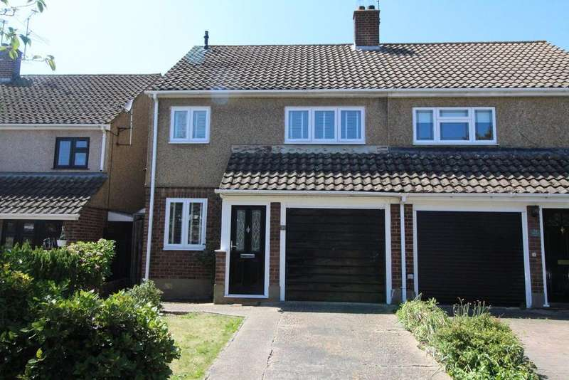 3 Bedrooms Semi Detached House for sale in Tabrums Way, Upminster, Essex, RM14