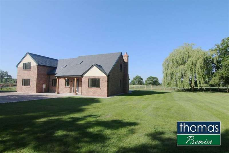 4 Bedrooms Detached House for sale in Rowton Lane, Rowton, Rowton