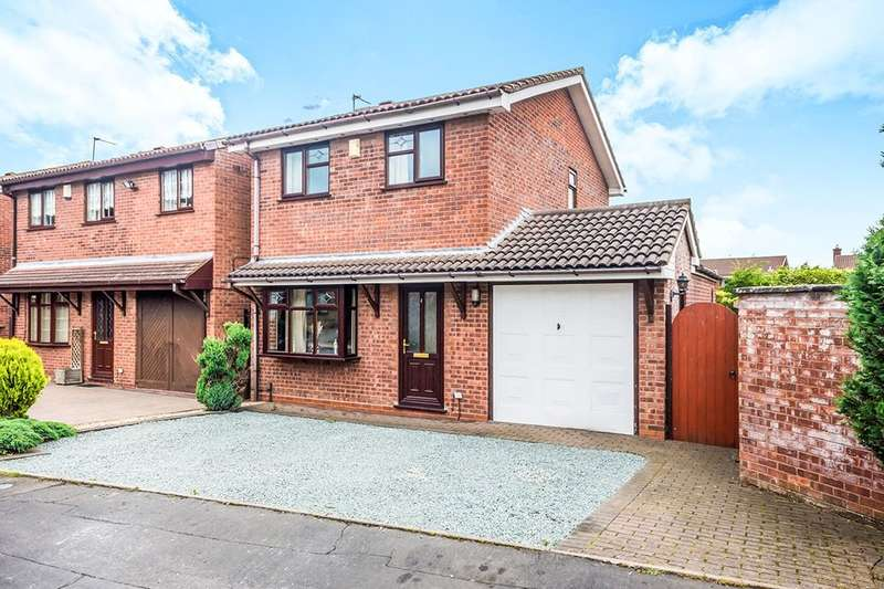 3 Bedrooms Detached House for sale in Grazewood Close, Willenhall, WV12