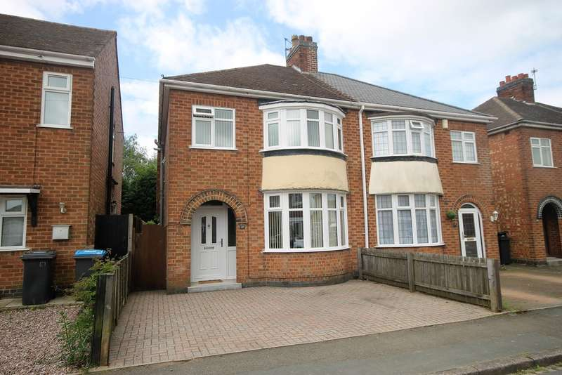 3 Bedrooms Semi Detached House for sale in Barrie Road, Hinckley