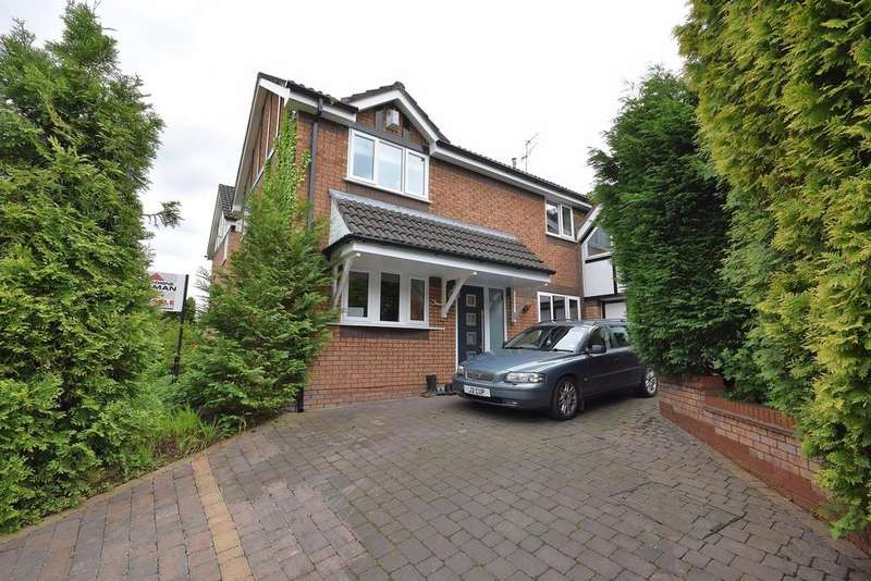 3 Bedrooms Detached House for sale in Moreton Drive, Poynton, Stockport