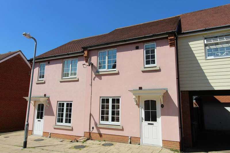 2 Bedrooms Terraced House for sale in Baker Way, Witham, Essex, CM8