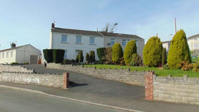 3 Bedrooms Semi Detached House for sale in Brynmelyn Avenue, Llanerch, Llanelli