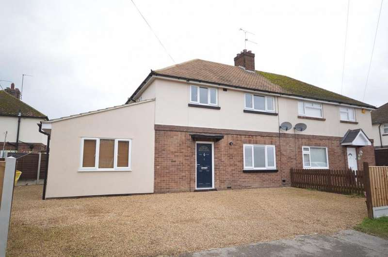4 Bedrooms Semi Detached House for sale in Glebe Road, Heybridge, Maldon, Essex, CM9