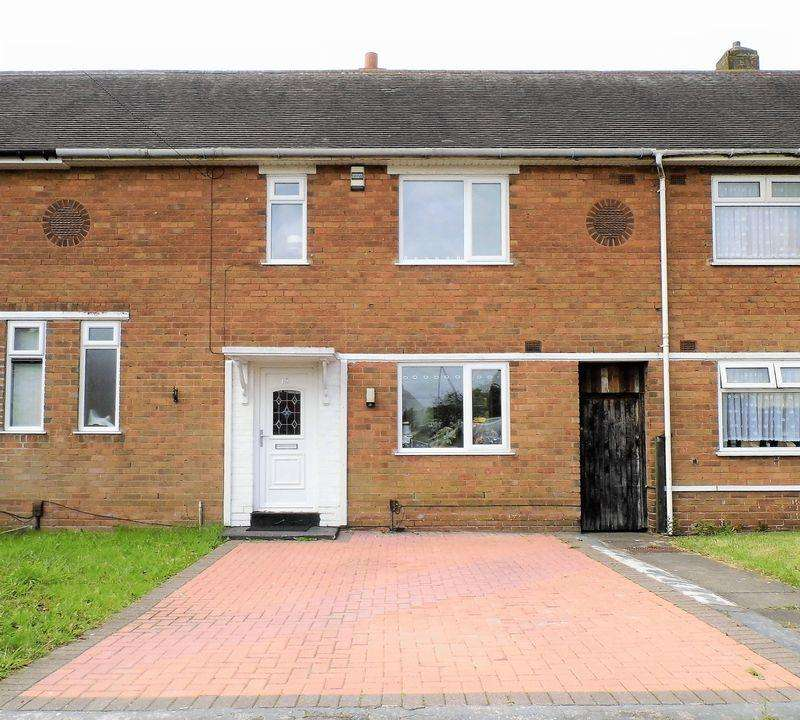 3 Bedrooms Terraced House for sale in Oak Road, Pelsall, Walsall
