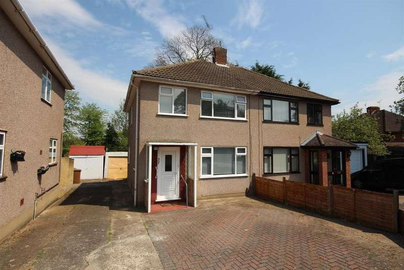 3 Bedrooms Semi Detached House for sale in Bankside Close, Bexley, DA5 2HE