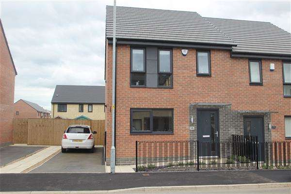 3 Bedrooms Semi Detached House for sale in Prince Drive, Fitzwilliam
