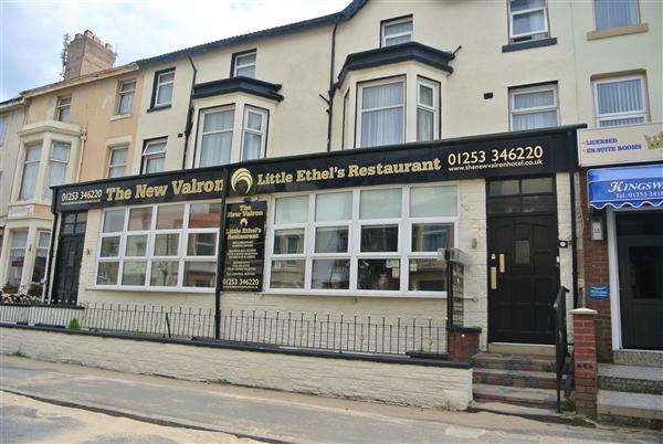 21 Bedrooms Hotel Commercial for sale in The New Valron Hotel & Little Ethels Restaurant, 13-15 Trafalgar Road, Blackpool