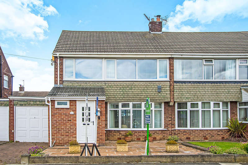 3 Bedrooms Semi Detached House for sale in Halton Drive, Wideopen, Newcastle Upon Tyne, NE13