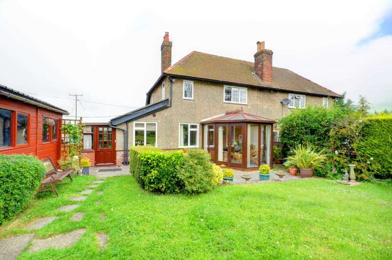 3 Bedrooms Semi Detached House for sale in Gilton Cottages, Stoke Talmage