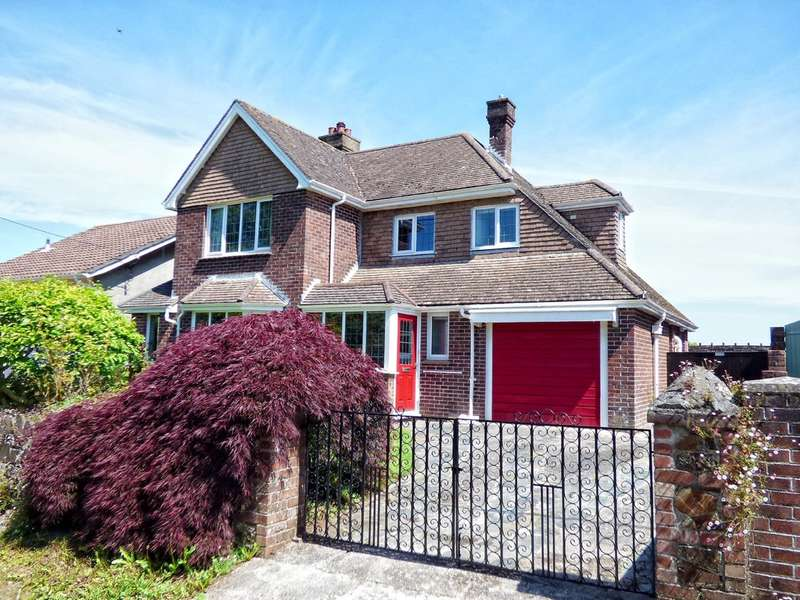 4 Bedrooms Detached House for sale in Chaddlewood Close, Plympton