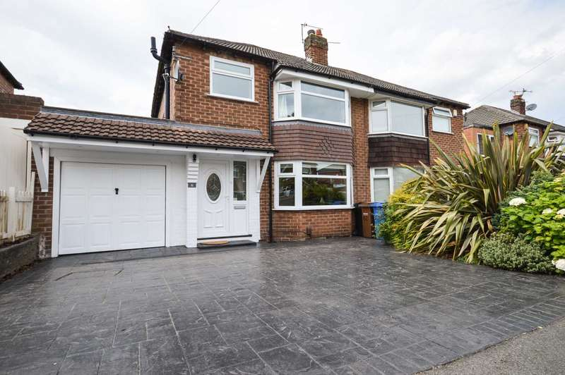 3 Bedrooms Semi Detached House for sale in Nursery Road, Cheadle Hulme