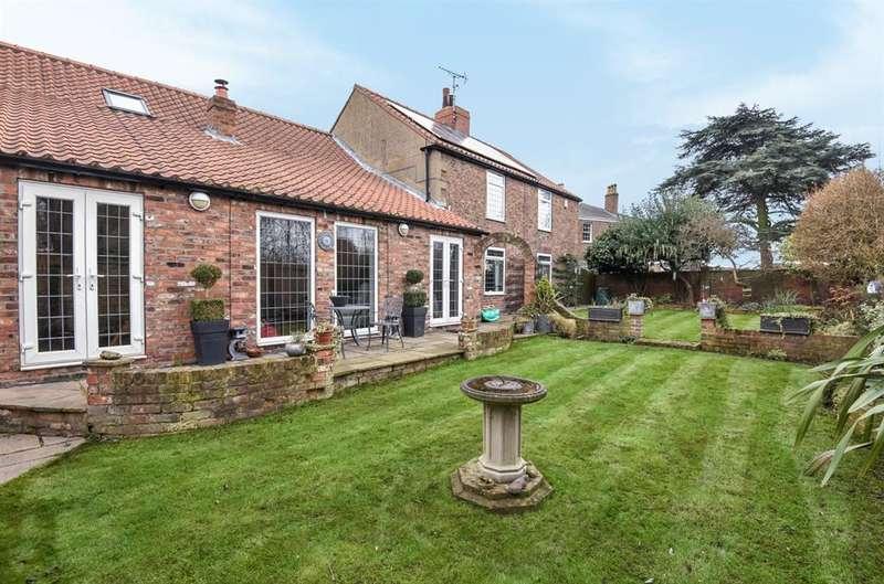 5 Bedrooms Detached House for sale in & a detached three bedroom cottage, Grimston Bar, York, YO19 5LA