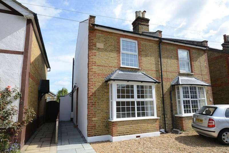 3 Bedrooms Semi Detached House for sale in Albany Road, Hersham, Walton-On-Thames