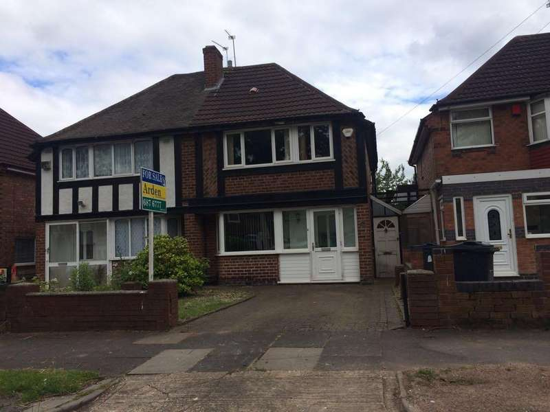3 Bedrooms Semi Detached House for sale in Falmouth Road, Hodge Hill, Birmingham B34