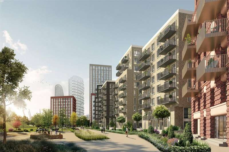 2 Bedrooms Apartment Flat for sale in Blackwall Reach, Blackwall, E14