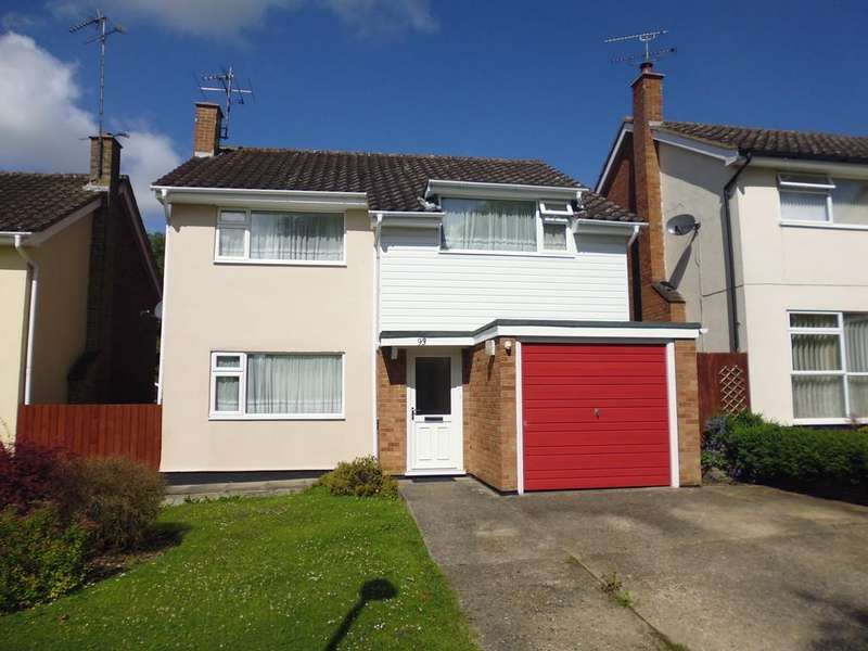 4 Bedrooms Detached House for sale in Lockington Crescent, Stowmarket