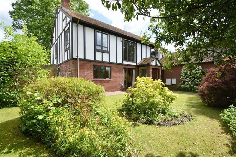 4 Bedrooms Detached House for sale in Porthill Gardens, Porthill, Shrewsbury