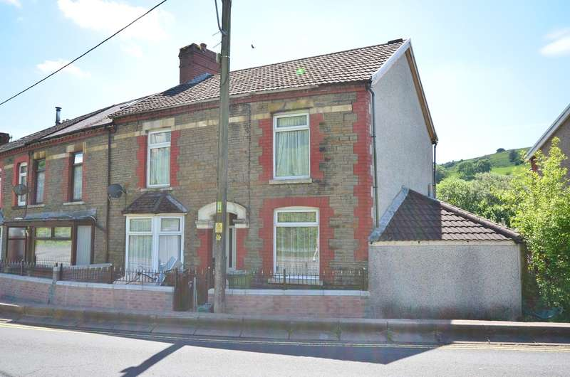 3 Bedrooms Terraced House for sale in Commercial Street, Senghenydd, Caerphilly, CF83