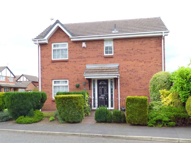 3 Bedrooms Detached House for sale in Silverstone Drive, Huyton, Liverpool