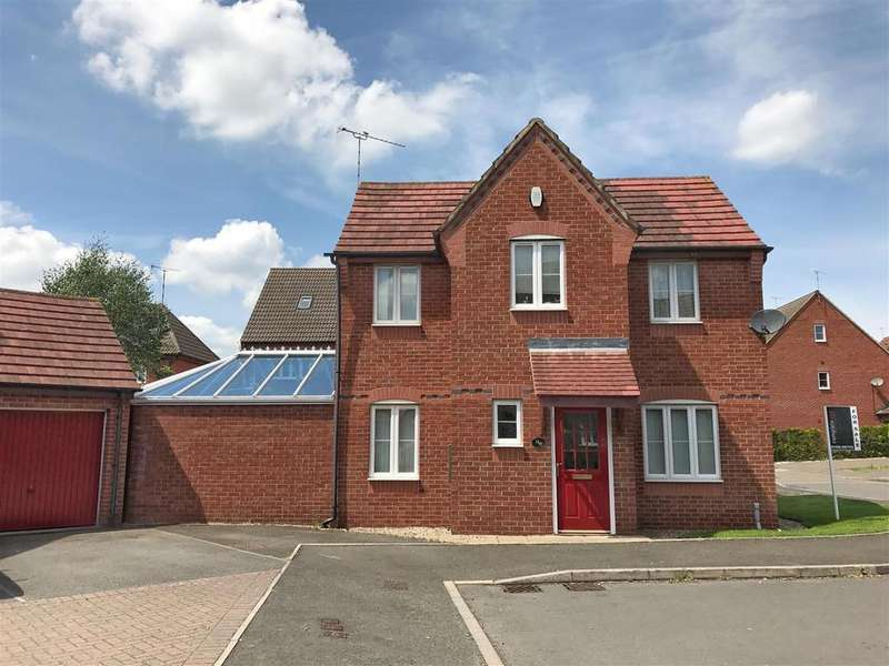 3 Bedrooms Detached House for sale in Coriolanus Square, Heathcote, Warwick